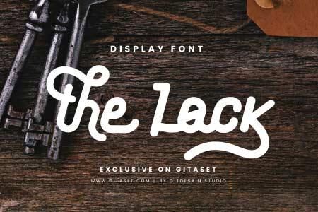 the-lock-font-git-aset