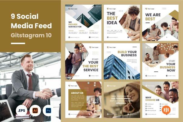 social-media-kit-10-git-aset