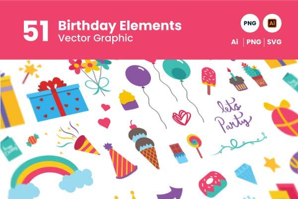 gitaset_51-Birthday-Elements