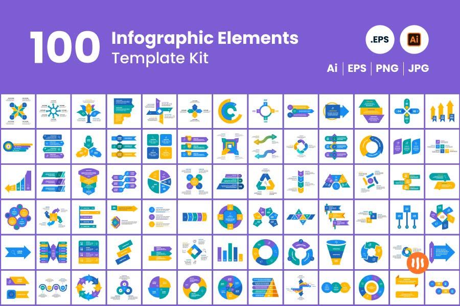 gitaset_100-Infographic-Elements