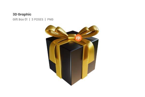 Git-Aset_03-Gift-Box-01-3d