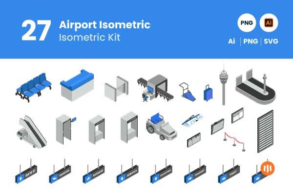 Git-Aset_Airport-Isometric