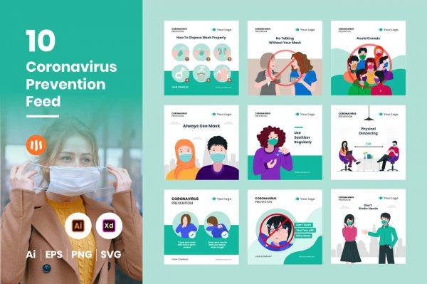 10-Coronavirus-Prevention-git-aset