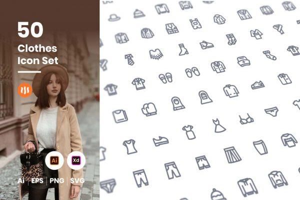 50-Cloth-Icon-Set-Git-Aset