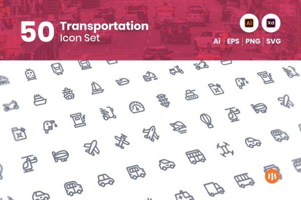 50-Transportation-Icon-Set-Git-Aset