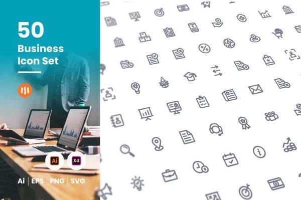50-business-icon-set-git-aset