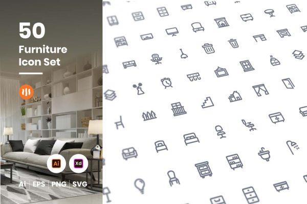 50-furniture-icon-set-git-aset