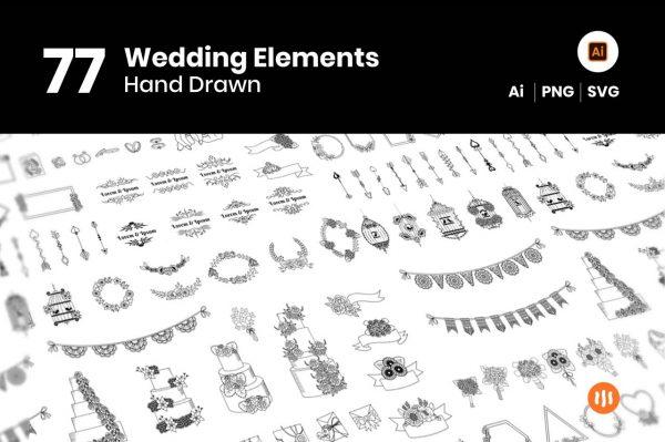77-Wedding-Elaments-git-aset