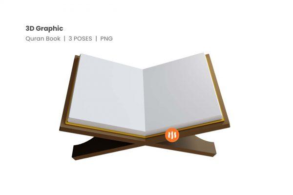 Git-Aset_03-Quran-Book-3d