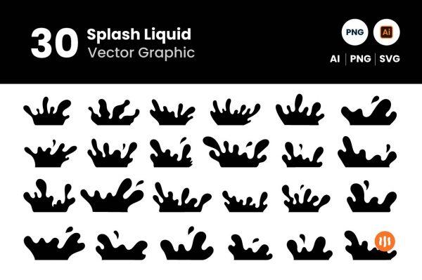 Git-Aset_30-Splash-Vector