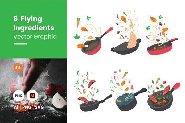 Git-Aset_Food-Background