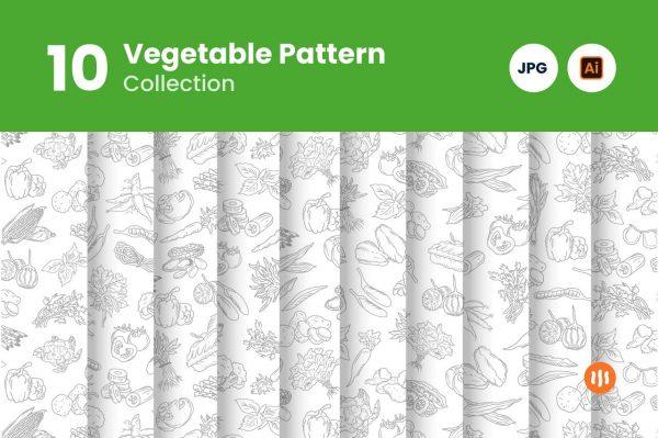 Git-Aset_Pattern-Vegetable