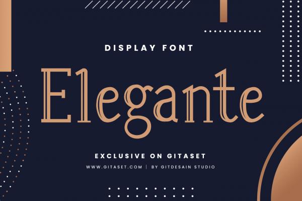 elegantes-font-git-aset