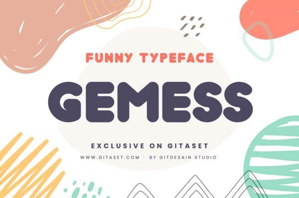 gemess-font-git-aset