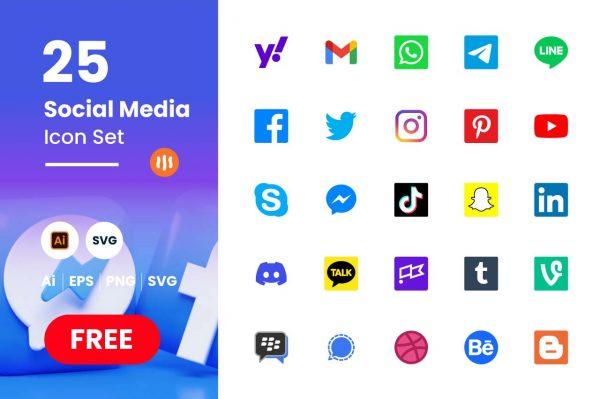 git_aset_25-Sosial-Media-Icon-Color-Set