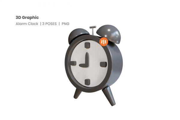 git_aset_Alarm-Clock-3D-Poses