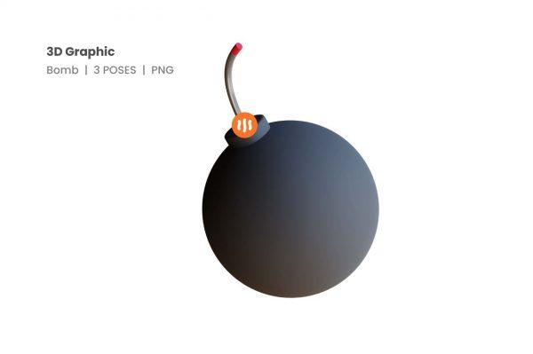 git_aset_Bomb-3D-Poses