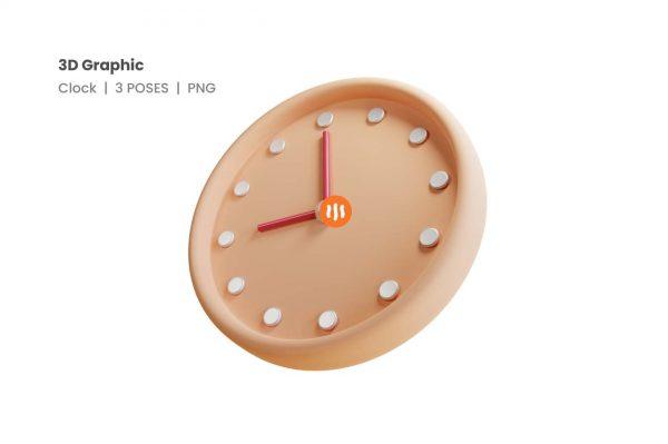 git_aset_Clock-3D-Poses