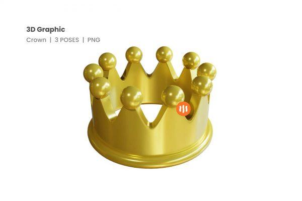 git_aset_Crown-3D-Poses