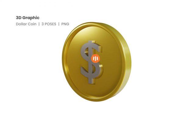 git_aset_Dollar-Coin-3D-Poses