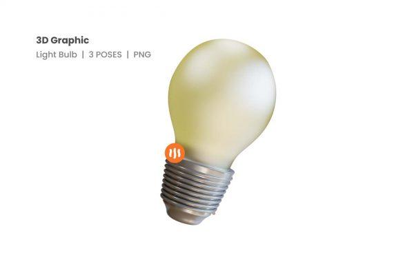 git_aset_Light-Bulb-3D-Poses