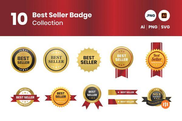 gitaset_10-Best-Seller-Badge