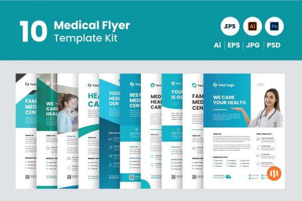 gitaset_10-medical-flyer-template