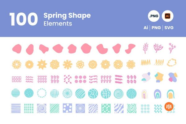 gitaset_100-Spring-Shape-Elements