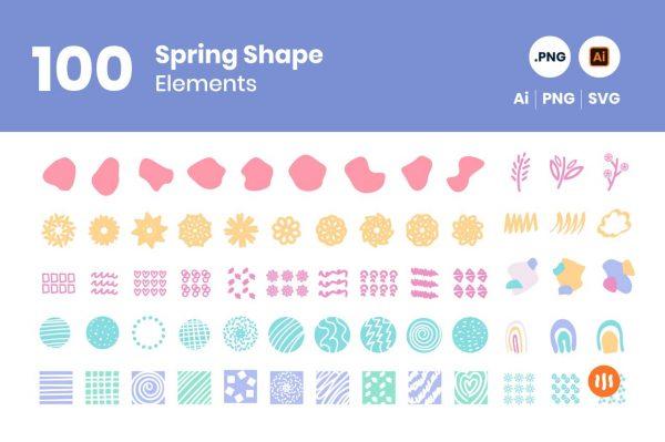 gitaset_100-Spring-Shape-Elements