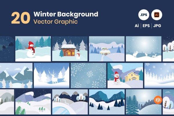gitaset_20-Winter-Background