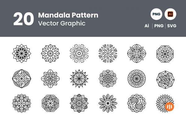 gitaset_20-mandala-pattern