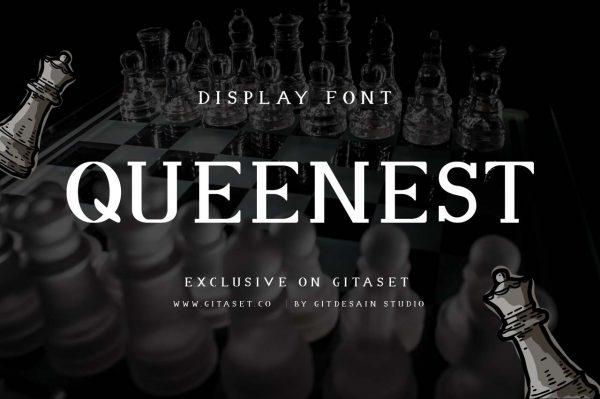 gitaset_queenest-font