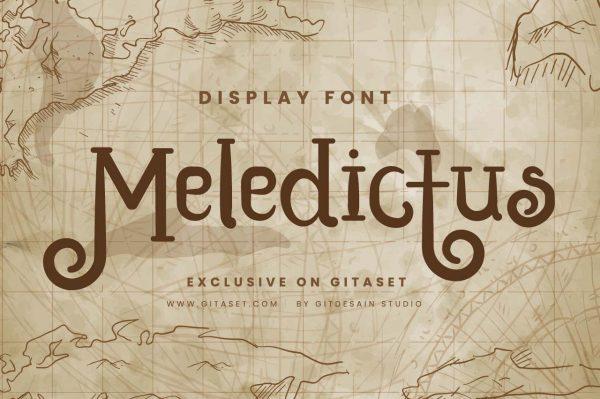 meledictus-font-git-aset
