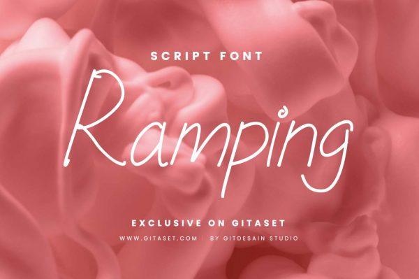 ramping-font-git-aset